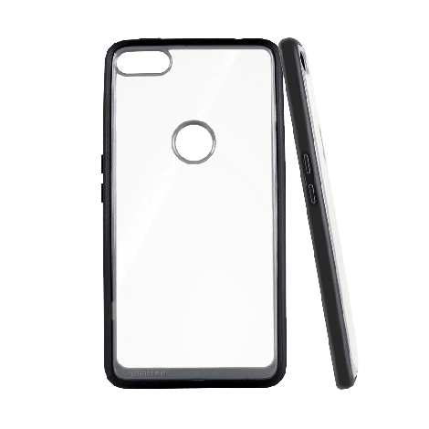 Transparent antishock case